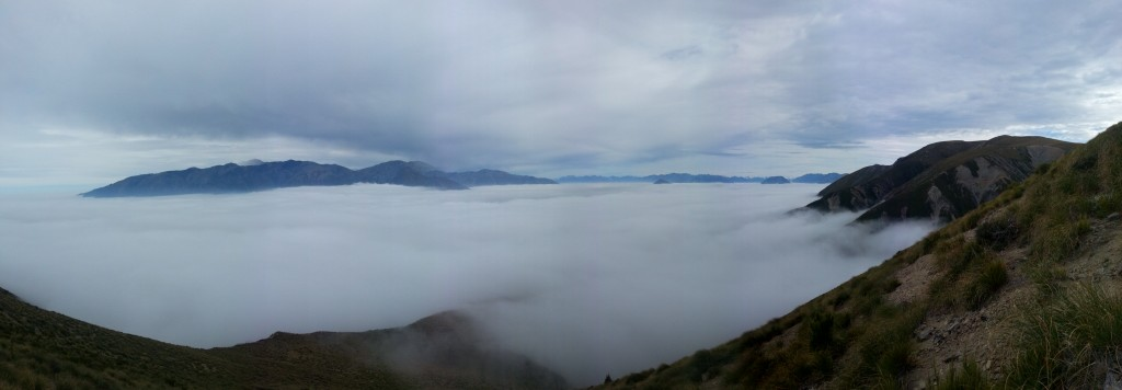 The view above the cloud - 52 peaks.