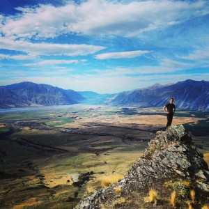The View out over the Rangitata