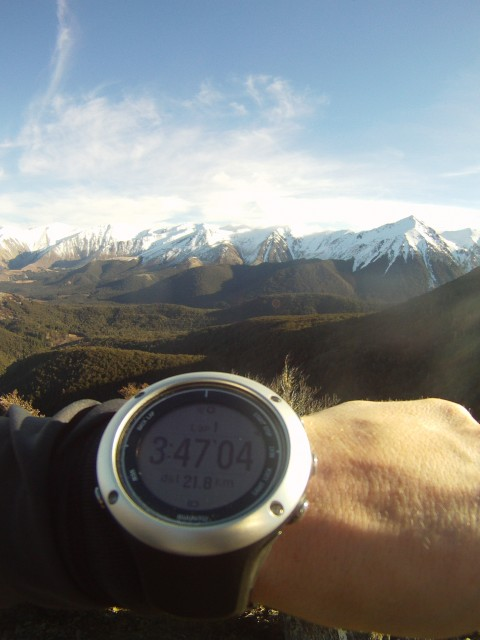 Suunto on Helicopter Hill
