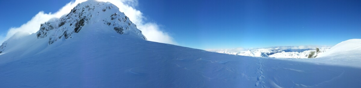 The panorama from Kahutea Col