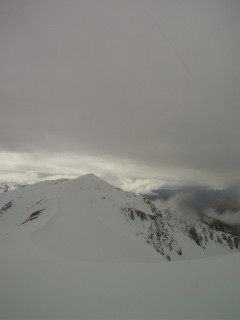 The view to Cheeseman Ski Field