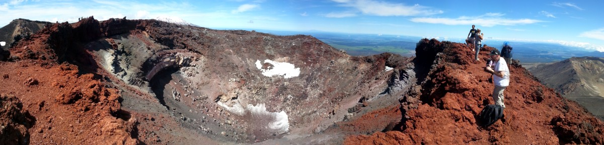 The Ngauruhoe Summit Crater
