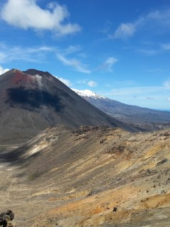 Mt Ngauruhoe from Tongariro Ridge