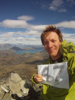 Peak 47 - Overlooking Lake Coleridge