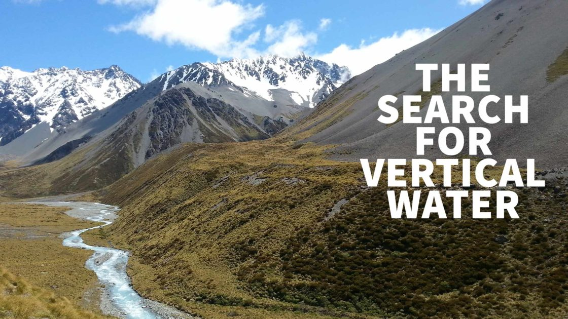 The Search for Vertical Water